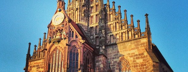 Zu Unserer Lieben Frau (Frauenkirche) is one of Nuremberg's favourite places.
