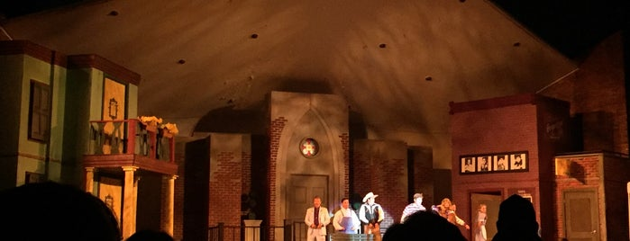 Shakespeare In The Park is one of nashville.
