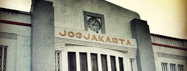Stasiun Yogyakarta Tugu is one of Visited Places in Yogyakarta :).