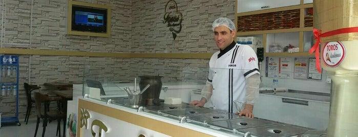 Toros Dondurma is one of Gourmet!.