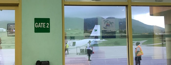 John A. Osborne Airport (MNI) is one of Caribbean Airports.