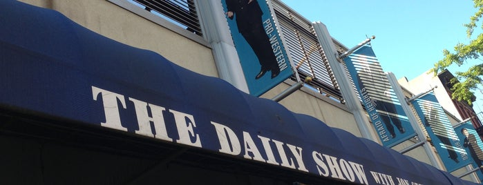The Daily Show with Jon Stewart is one of Manhattan.