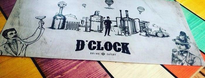 D'clock Pub Drink & Eatery is one of Ankara'nın Kaliteli Mekanları.