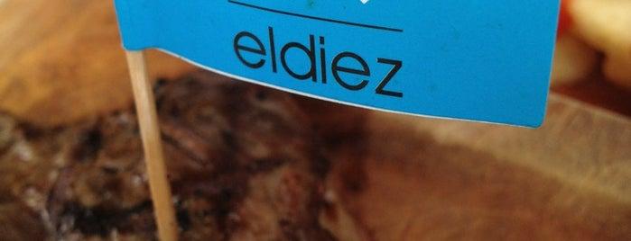 El Diez is one of Donde comer sin carne..