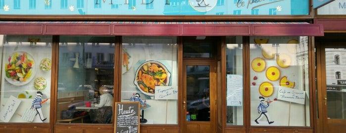 Midi - le petit déli is one of Exotische & Interessante Restaurants In Wien.