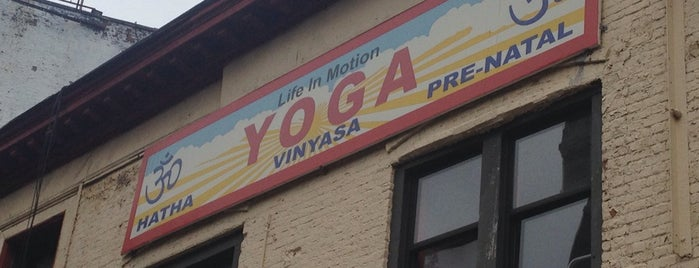 Life in Motion: Yoga Cycling Barre is one of Harlem, etc..