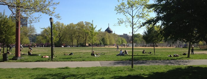 McCarren Park is one of New York City.