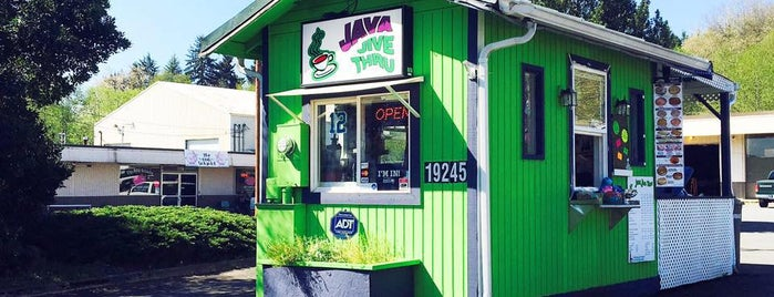Java Jive Thru is one of Seattle spots.