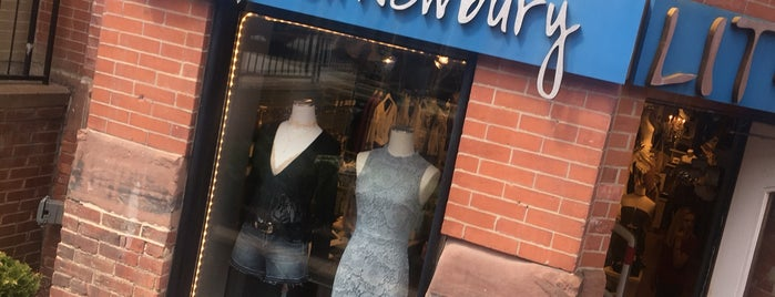 LIT on Newbury is one of Boutiques.