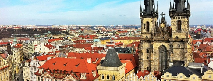 Old Town Square is one of Prague.
