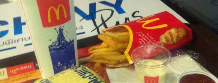 McDonald's & McCafé is one of All-time favorites in Thailand.