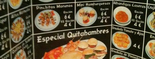 Tragatapas is one of BEBER Y COMER EN MADRID.