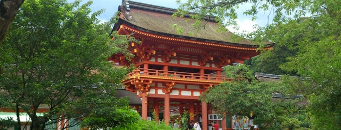 Kamigamo-Jinja Shrine is one of 神社.