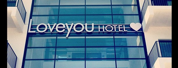 Loveyou Hotel is one of Eat, dream, love!.