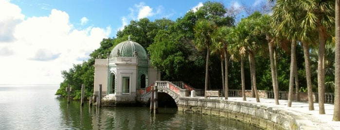 Vizcaya Museum and Gardens is one of Miami's must visit!.