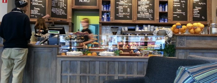Green Caffé Nero is one of Cafes.