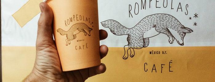 Rompeolas Café is one of DF.