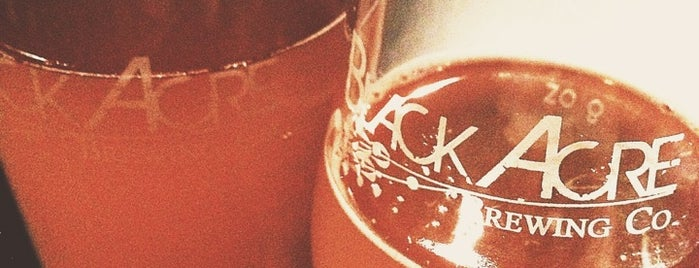 Black Acre Brewing Co. is one of Growler fill spots in Indy.
