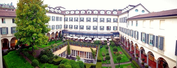 Four Seasons Hotel Milano is one of Milano.