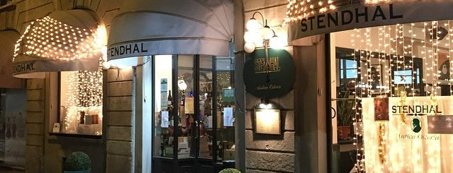 Antica Osteria Stendhal is one of Milano food.
