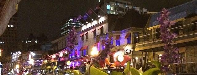 Wienstein & Gavino's is one of Best Terrasses in Montreal.