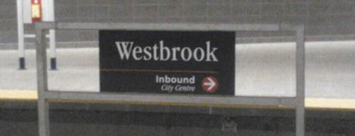 Westbrook (C-Train) is one of C train stops.