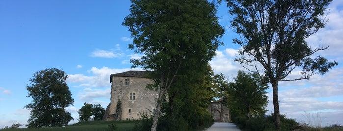 La Bastide-Marnhac is one of Les chemins de Compostelle.