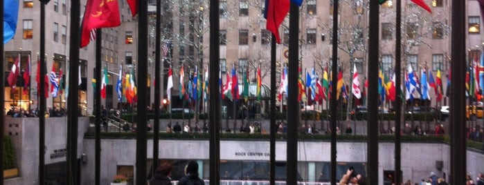 30 Rockefeller Plaza is one of Architecture - Great architectural experiences NYC.