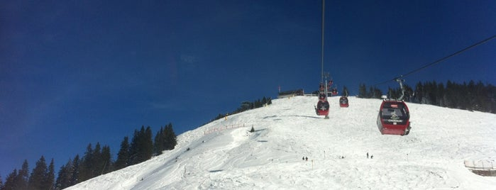 Choralmbahn Bergstation / Mountain Station is one of Skiwelt Lifts.