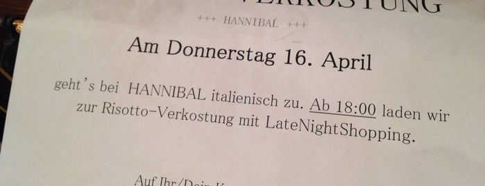 Hannibal is one of Wien.