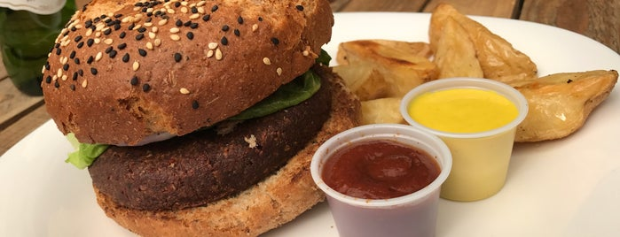 Vegan Planet is one of Donde comer sin carne..