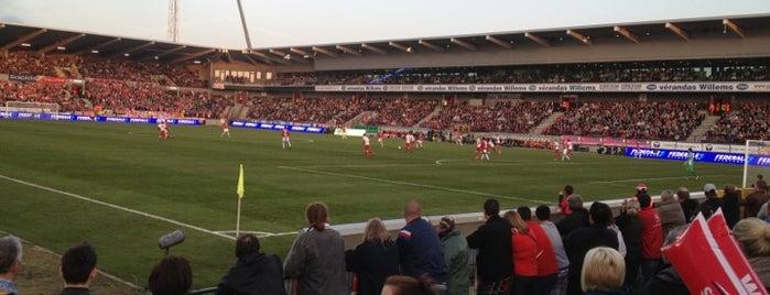 Stade Charles Tondreau is one of Jupiler Pro League and Belgacom League - 2013-2014.