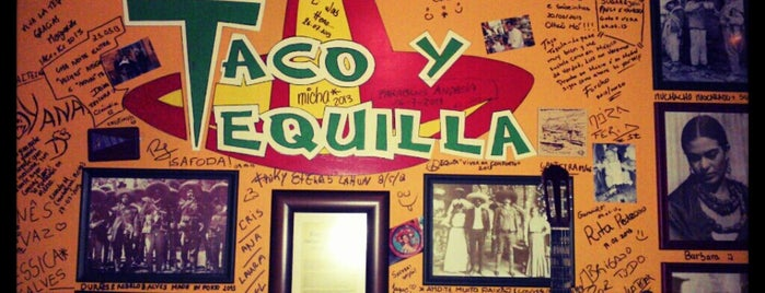 Taco y Tequilla is one of Restaurantes.