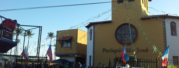 Paróquia São José is one of Vicariato Oeste [West].