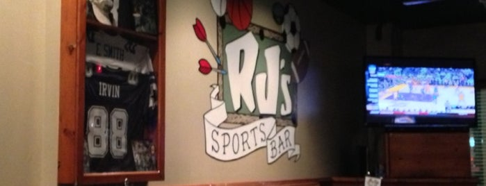 RJ's Restaurant & Sports Pub is one of Local Redskins Rally Bars.