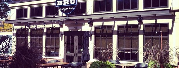 Bru Burger Bar is one of The 15 Best Places That Are Good for a Late Night in Indianapolis.