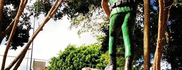 Praça dos Ex-Combatentes is one of cruz das almas.