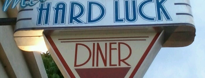 Mel's Hard Luck Diner is one of Favorite Food.