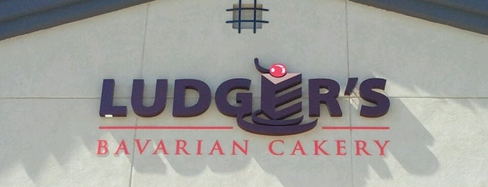 Ludger's Bavarian Cakery is one of day.