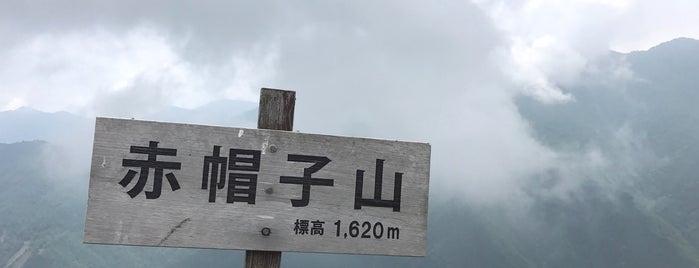 赤帽子山 is one of 四国の山.