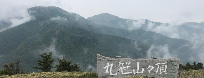 丸笹山 is one of 四国の山.