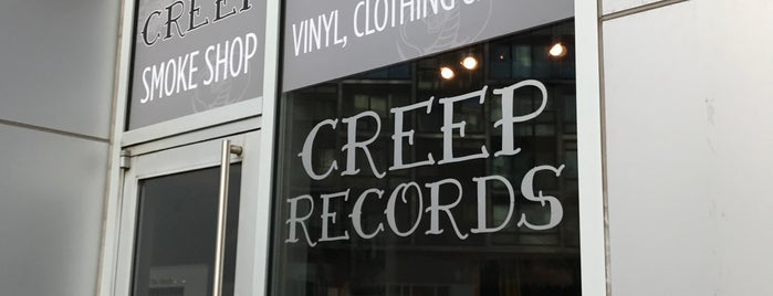 Creep Records is one of Record stores.