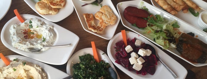 Olives 'n' Meze is one of London.