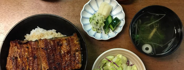 江戸焼うなぎ みなと is one of 神戸で食べる.