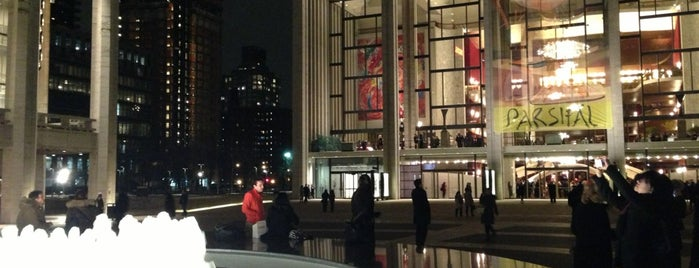 Lincoln Center for the Performing Arts is one of Destinations.