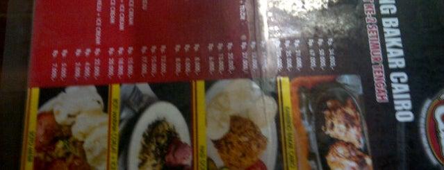 Kambing Bakar Cairo is one of Food Spots @Bandung.