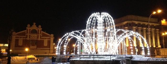 Первомайский сквер is one of Новосибирск / Novosibirsk.