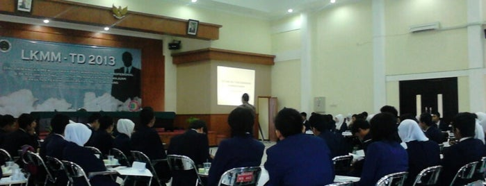 Aula Gedung H5 is one of State University of Malang.