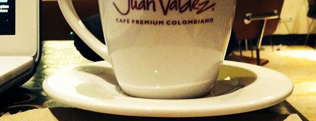 Juan Valdez Café is one of Mid 40-50s.