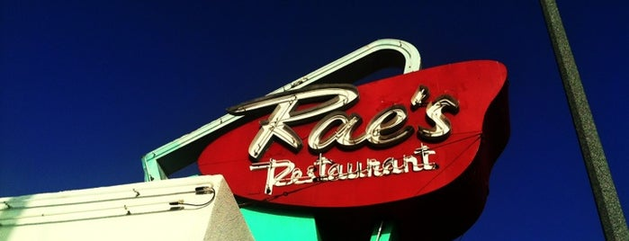 Rae's Diner is one of Oldest Los Angeles Restaurants Part 1.